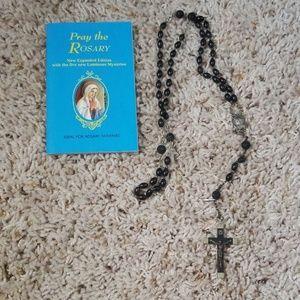 Jewelry - Black rosary